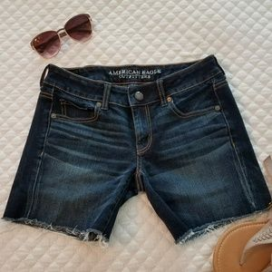 AE Super Stretch Midi Jean shorts
